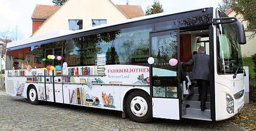 Bücherbus Weimarer Land